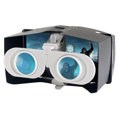 Foldable Virtual Reality 3D Glasses for 4 - 6 inch Mobile Phones