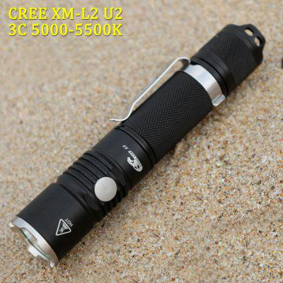 Eagle Eye X5 900Lm Cree XM - L2 U2 3C LED Flashlight
