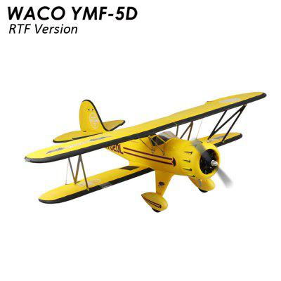 Dynam WACO YMF - 5D Aileron Roll 1270mm Wingspan 4 Channel Warplane Glider RTF Version