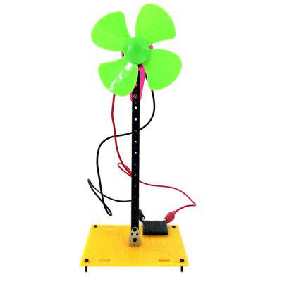 Solar Power Model 1 Cute Fan Blade Green Energy Intelligent DIY Toy