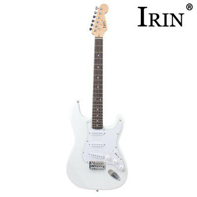 IRIN ST Electric GuitarGuitar<br>IRIN ST Electric Guitar<br><br>Diecast: Closed Knob<br>Jean Body Material: Basswood<br>Package Contents: 1 x Electric Guitar, 1 x Strap, 2 x Plectrum, 1 x 3m Cable, 1 x Bag, 3 x Wrench<br>Package size: 100.00 x 32.00 x 4.00 cm / 39.37 x 12.6 x 1.57 inches<br>Package weight: 3.6420 kg<br>Product size: 99.50 x 33.00 x 4.00 cm / 39.17 x 12.99 x 1.57 inches<br>Refers to the Material: Basswood<br>The Back and Sides Material: Basswood<br>Type: Electric Guitar