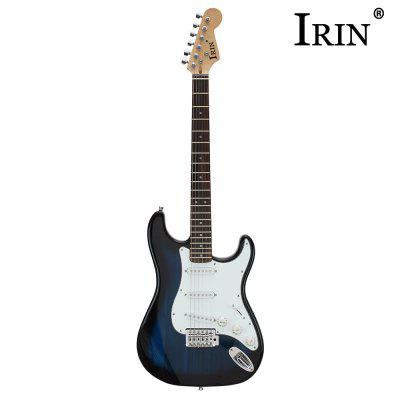 IRIN ST Electric GuitarGuitar<br>IRIN ST Electric Guitar<br><br>Diecast: Closed Knob<br>Jean Body Material: Basswood<br>Package Contents: 1 x Electric Guitar, 1 x Strap, 2 x Plectrum, 1 x 3m Cable, 1 x Bag, 3 x Wrench<br>Package size: 100.00 x 32.00 x 4.00 cm / 39.37 x 12.6 x 1.57 inches<br>Package weight: 3.5000 kg<br>Product size: 99.50 x 33.00 x 4.00 cm / 39.17 x 12.99 x 1.57 inches<br>Refers to the Material: Basswood<br>The Back and Sides Material: Basswood<br>Type: Electric Guitar