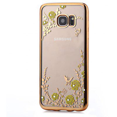 Protective Electroplated Back Case for Samsung Galaxy S7 Edge