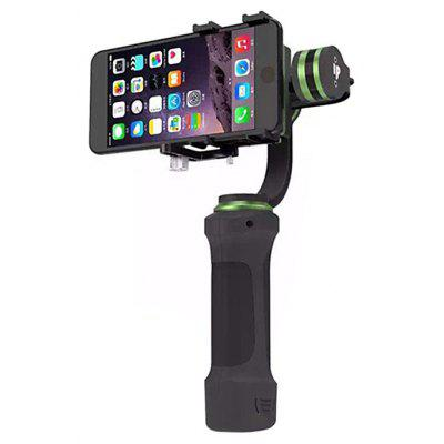 LiLpartner 3Axis Handheld Tilt Pan Stabilizer with Clip for Smartphones