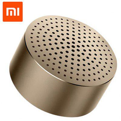 Gearbest Original Xiaomi Mi Bluetooth 4.0 Speaker - CHAMPAGNE GOLD Mini Subwoofer Built-in Rechargeable Lithium Battery