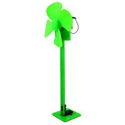 Solar Power Model 2 Cute Fan Blade Green Energy Intelligent DIY Toy
