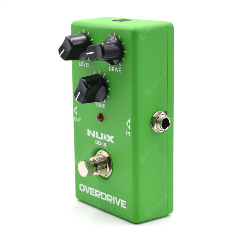 nux od 3 overdrive electric guitar mini effect pedal true bypass gearbest. Black Bedroom Furniture Sets. Home Design Ideas