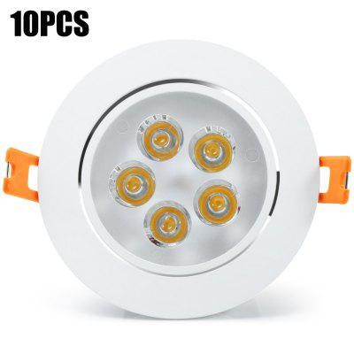 10PCS YouOKLight 450Lm 5W Recessed LED Ceiling Light