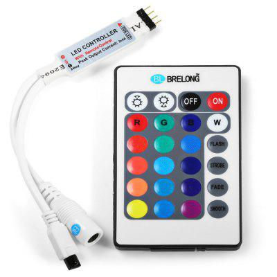 BRELONG RGB Light Strip Remote Controller 24 Keys