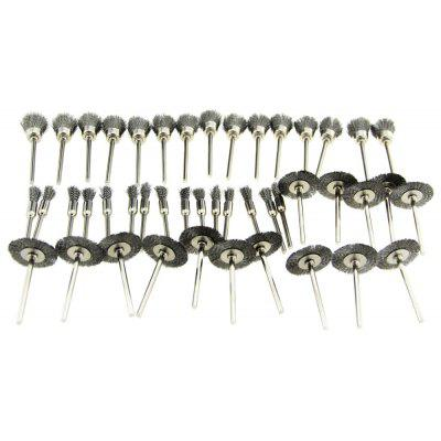 45PCS Steel Wire Wheel Brushes