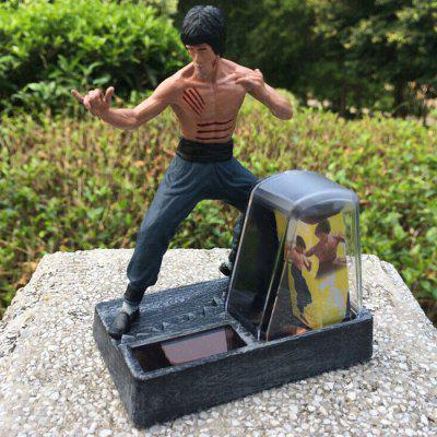 PVC + ABS Star Style Action Figure Solar Energy Cartoon Decor - 2 inch