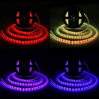 BRELONG 300 x SMD 5050 / 5M Waterproof RGB LED Light StripLED Strips<br>BRELONG 300 x SMD 5050 / 5M Waterproof RGB LED Light Strip<br><br>Brand: BRELONG<br>Connector Type: US plug, EU plug<br>Features: IP-65, Low Power Consumption, Remote Control, Waterproof<br>Input Voltage: AC100-240<br>LED Type: SMD-5050<br>Material: FPC, Silicone<br>Number of LEDs: 300 x SMD 5050 / 5M, 60 x SMD 5050 / M<br>Optional Light Color: RGB<br>Output Voltage: DC 12V<br>Package Contents: 1 x BRELONG RGB LED Strip Light, 1 x Remote Controller, 1 x Control Box, 1 x Power Adapter, 1 x Power Cable<br>Package size (L x W x H): 22.00 x 20.00 x 6.00 cm / 8.66 x 7.87 x 2.36 inches<br>Package weight: 0.620 kg<br>Product size (L x W x H): 500.00 x 1.00 x 0.20 cm / 196.85 x 0.39 x 0.08 inches<br>Product weight: 0.570 kg<br>Rated Current (A): 5A<br>Rated Power (W): 60W<br>Type: LED Strip