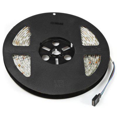 BRELONG 5M 300 x SMD5050 Waterproof RGB LED Strip LightLED Strips<br>BRELONG 5M 300 x SMD5050 Waterproof RGB LED Strip Light<br><br>Brand: BRELONG<br>Connector Type: 4PIN<br>Features: IP-65, Low Power Consumption, Remote Control, Waterproof<br>Input Voltage: DC12<br>LED Type: SMD-5050<br>Material: Silicone, FPC<br>Number of LEDs: 300 x SMD5050 / 5M, 60 x SMD5050 / M<br>Optional Light Color: RGB<br>Package Contents: 1 x BRELONG RGB LED Strip Light, 1 x Remote Controller,1 x Control Box<br>Package size (L x W x H): 22.00 x 20.00 x 6.00 cm / 8.66 x 7.87 x 2.36 inches<br>Package weight: 0.2850 kg<br>Product size (L x W x H): 500.00 x 1.00 x 0.20 cm / 196.85 x 0.39 x 0.08 inches<br>Product weight: 0.2540 kg<br>Rated Power (W): 60W<br>Type: LED Strip