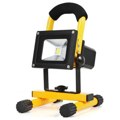 10W 800LM Portable Rechargeable LED Floodlight Outdoor Lighting