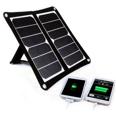 SW-H12 5.5V 2.1A 12W USB Output Folding Solar Panel Charger