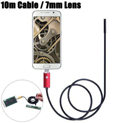 AN99-R10-7 2 in 1 7mm Lens Android PC Endoscope