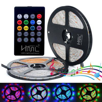 2PCS HML 300 x SMD2835 / 5M 24W 2400Lm Waterproof RGB LED Light Strip
