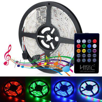 1PCS HML 24W 300 x SMD2835 / 5M Waterproof RGB LED Light Strip