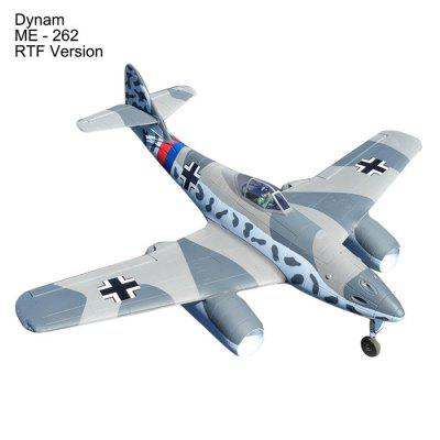 Dynam ME - 262 1500mm Wingspan EDF Jet Airplane Gift for Flying Lover RTF Version
