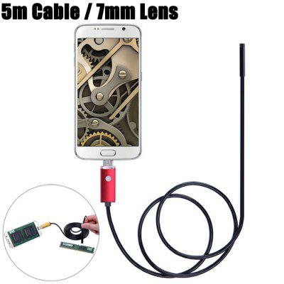 AN99-R5-7 2 in 1 7mm Lens Android PC Endoscope