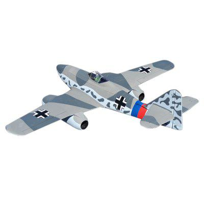 Dynam ME - 262 1500mm Wingspan EDF Jet Airplane Gift for Flying Lover RTF VersionRC Airplanes<br>Dynam ME - 262 1500mm Wingspan EDF Jet Airplane Gift for Flying Lover RTF Version<br><br>Battery Capacity: 14.8V 4000mAh 25C<br>Brand: Dynam<br>Channel: 4-Channels<br>Detailed Control Distance: 1000m<br>Features: Radio Control<br>Flying Time: 7~8mins<br>Function: Up/down, Turn left/right, Aileron Roll<br>Material: EPO, Electronic Components<br>Mode: Mode 2(Left Hand Throttle)<br>Package Contents: 1 x Kit, 2 x Motor, 1 x ESC, 4 x Servo, 1 x Transmitter, 1 x English Manual<br>Package size (L x W x H): 25.00 x 68.00 x 134.00 cm / 9.84 x 26.77 x 52.76 inches<br>Package weight: 2.550 kg<br>Product size (L x W x H): 23.00 x 128.40 x 150.00 cm / 9.06 x 50.55 x 59.06 inches<br>Remote Control: Radio Control<br>Transmitter Power: 8 x 1.5V AA battery(not included)