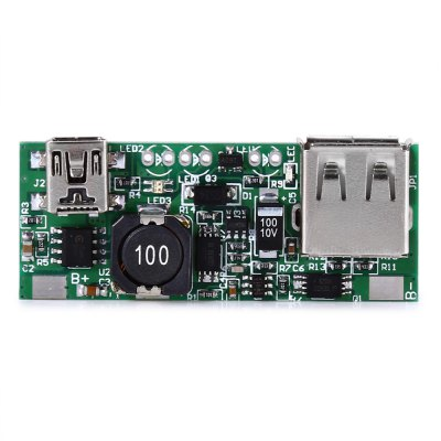 5V USB Power Bank Step-up Boost Module