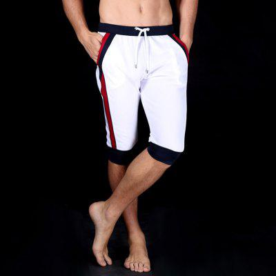 Men Fashionable Fitness Summer Cropped Pants