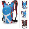 LOCAL LION 3.5L Water Resistant Nylon Cycling Backpack - LIGHT BLUE