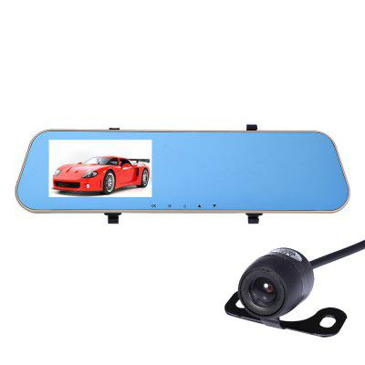 SJ-M058 720P 2.0MP 170 Degree Car DVR Rearview Mirror Camera