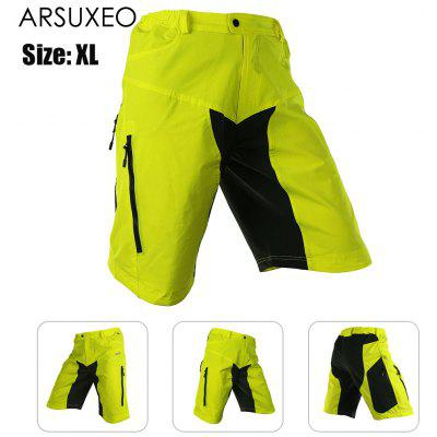 ARSUXEO DH-2 Men Quick Dry Breathable Cycling Shorts