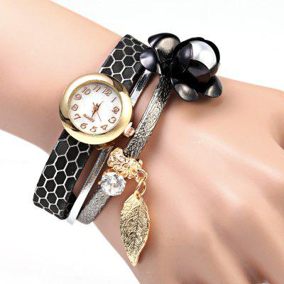 S5-51 Luxury Style Women Quartz Watch Bracelet