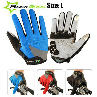ROCKBROS S030-2 Touch Screen Full-finger Cycling Gloves
