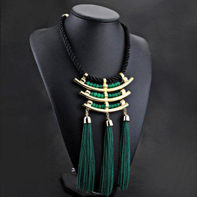 NL026 Fashion Ethnic Style False Collar Necklace