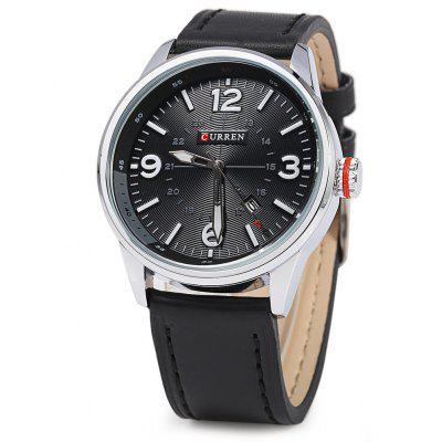 CURREN 8215 Business Style Male Quartz Watch