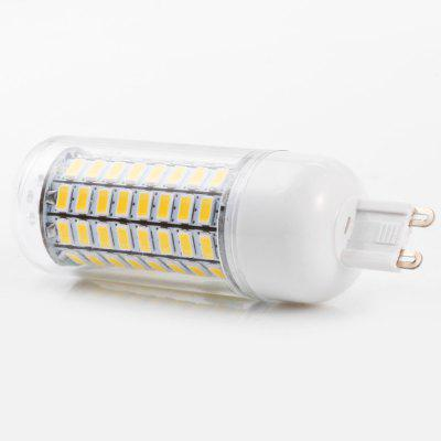3PCS BRELONG 89 x SMD5730 8 - 9W 1800LM G9 LED Corn BulbCorn Bulbs<br>3PCS BRELONG 89 x SMD5730 8 - 9W 1800LM G9 LED Corn Bulb<br><br>Available Light Color: Warm White,White<br>Brand: BRELONG<br>CCT/Wavelength: 3000-3500K,6000-6500K<br>Emitter Types: SMD 5730<br>Features: Long Life Expectancy, Energy Saving<br>Function: Studio and Exhibition Lighting, Commercial Lighting, Home Lighting<br>Holder: B22,E14,E27,G9,GU10<br>Luminous Flux: 1800LM<br>Output Power: 8 - 9W<br>Package Contents: 3 x BRELONG LED Corn Light<br>Package size (L x W x H): 10.30 x 4.10 x 11.00 cm / 4.06 x 1.61 x 4.33 inches<br>Package weight: 0.155 kg<br>Product size (L x W x H): 3.10 x 3.10 x 10.00 cm / 1.22 x 1.22 x 3.94 inches<br>Product weight: 0.039 kg<br>Sheathing Material: PC<br>Total Emitters: 89<br>Type: Corn Bulbs<br>Voltage (V): AC 220-240
