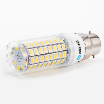 3PCS BRELONG 89 x SMD5730 8 - 9W 1800LM B22 LED Corn BulbCorn Bulbs<br>3PCS BRELONG 89 x SMD5730 8 - 9W 1800LM B22 LED Corn Bulb<br><br>Available Light Color: Warm White,White<br>Brand: BRELONG<br>CCT/Wavelength: 3000-3500K,6000-6500K<br>Emitter Types: SMD 5730<br>Features: Long Life Expectancy, Energy Saving<br>Function: Studio and Exhibition Lighting, Commercial Lighting, Home Lighting<br>Holder: B22,E14,E27,G9,GU10<br>Luminous Flux: 1800LM<br>Output Power: 8 - 9W<br>Package Contents: 3 x BRELONG LED Corn Light<br>Package size (L x W x H): 10.30 x 4.10 x 11.00 cm / 4.06 x 1.61 x 4.33 inches<br>Package weight: 0.155 kg<br>Product size (L x W x H): 3.10 x 3.10 x 10.00 cm / 1.22 x 1.22 x 3.94 inches<br>Product weight: 0.039 kg<br>Sheathing Material: PC<br>Total Emitters: 89<br>Type: Corn Bulbs<br>Voltage (V): AC 220-240