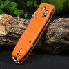 Ganzo G746-1-OR Tactical Hunting Knife - ORANGE