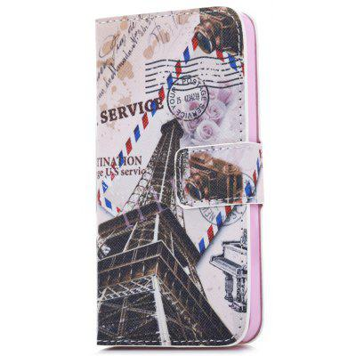 Protective PU Leather Flip Case for iPhone SE / 5S / 5 Magnetism