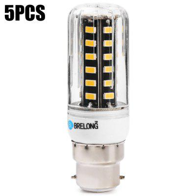 5pcs BRELONG 9W 42 x SMD5733 B22 900LM LED Corn Bulb