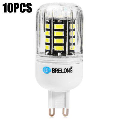 10PCS BRELONG 30 x SMD5733 G9 6W 600LM LED Corn Bulb