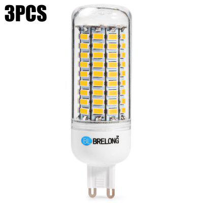 3pcs BRELONG G9 99 x SMD5730 20W 1500LM LED Corn Bulb