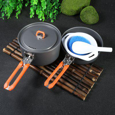 Fire-Maple SY1 Aluminium Alloy Six-piece Cookware Set
