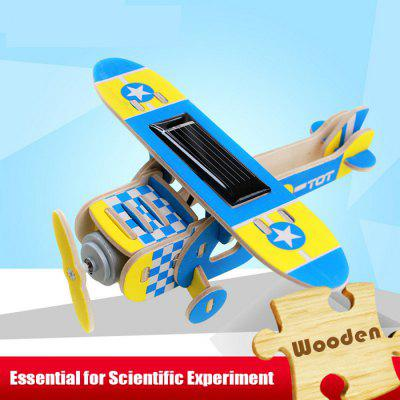 Solar Monoplane Eyas P210 Jigsaw Puzzle Building Blocks Environmental DIY Toy