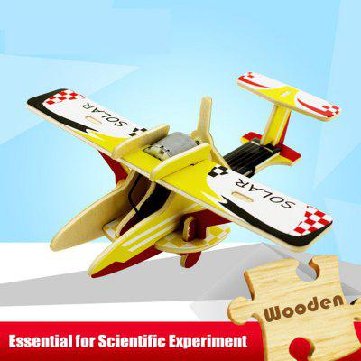 Solar Civil Aircraft P260 Jigsaw Puzzle Building Blocks Environmental DIY Toy