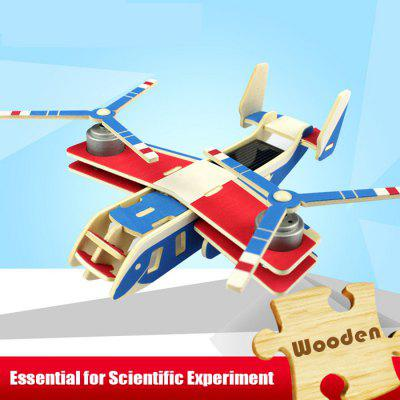 Solar Transport Plane Osprey P310 Jigsaw Puzzle Building Blocks Environmental DIY Toy