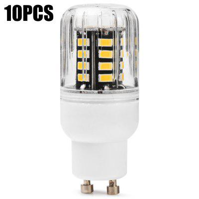 10PCS BRELONG 30 x SMD5733 GU10 6W 600LM LED Corn Bulb
