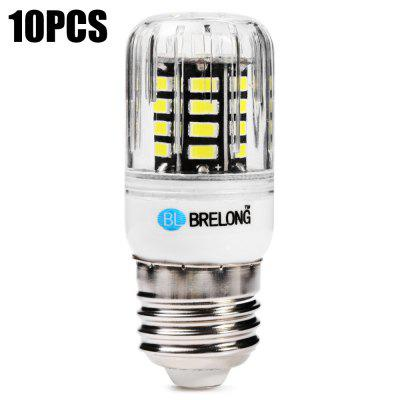 10PCS BRELONG 30 x SMD5733 E27 6W 600LM LED Corn Bulb