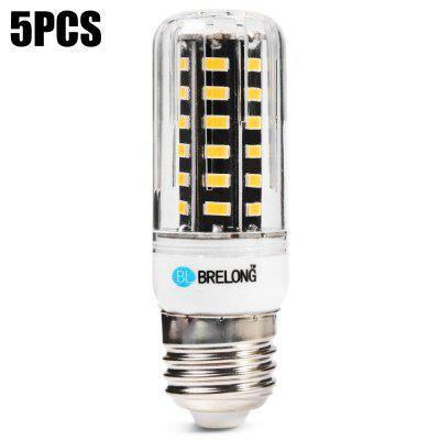 5pcs BRELONG 9W 42 x SMD5733 E27 900LM LED Corn Bulb