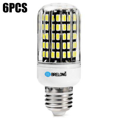 6 x BRELONG E27 1800Lm 18W SMD5733 108 LED Corn Bulb