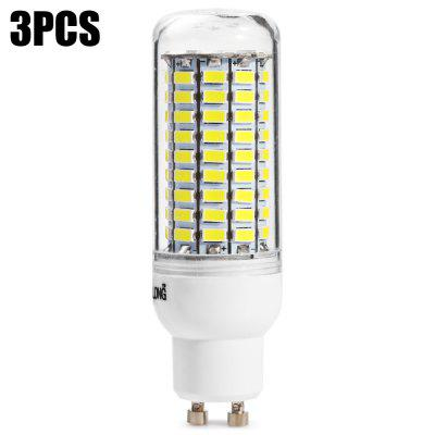 3pcs BRELONG GU10 99 x SMD5730 20W 1500LM LED Corn Bulb